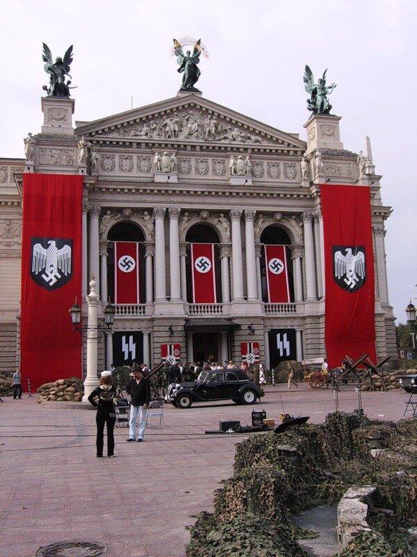 Львов театр Гитлер капут