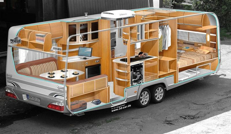 Машина дом на колесах фото