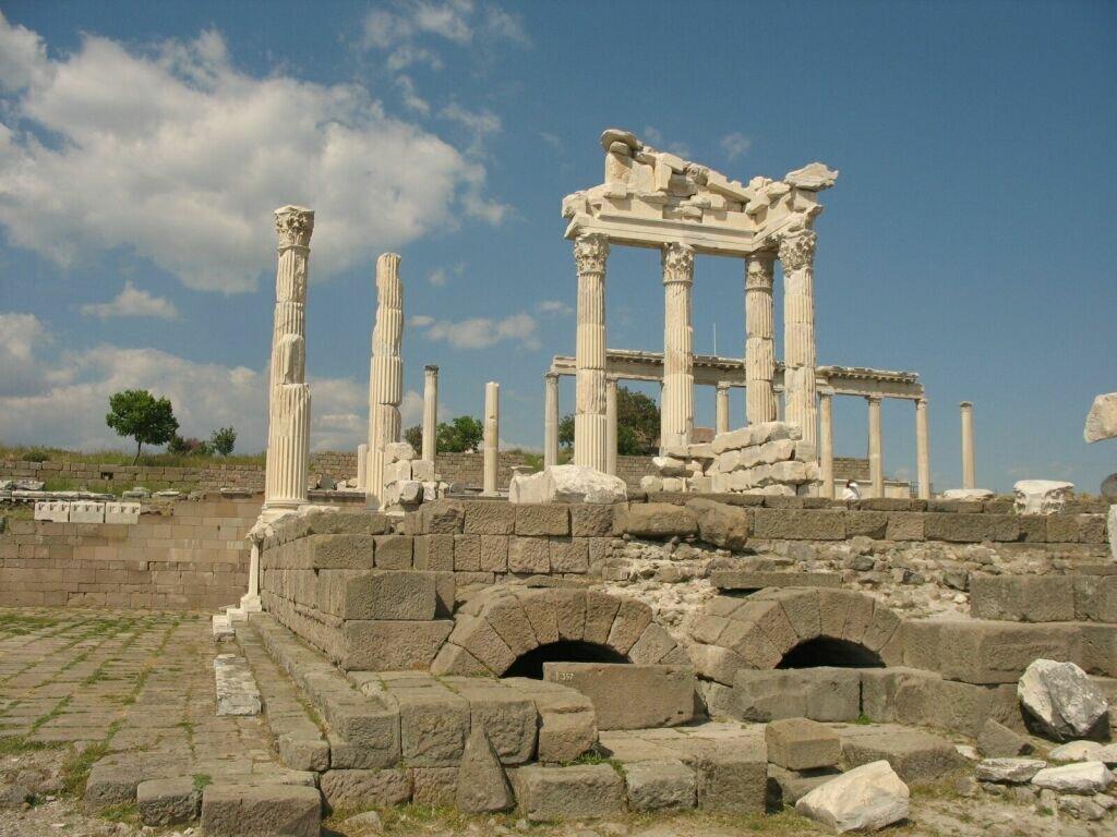 Руины древней Трои