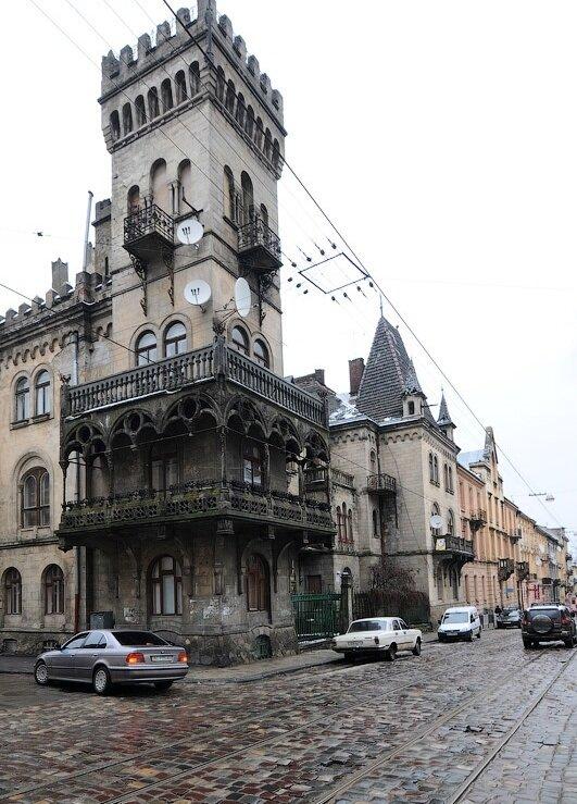 дом-замок Львов