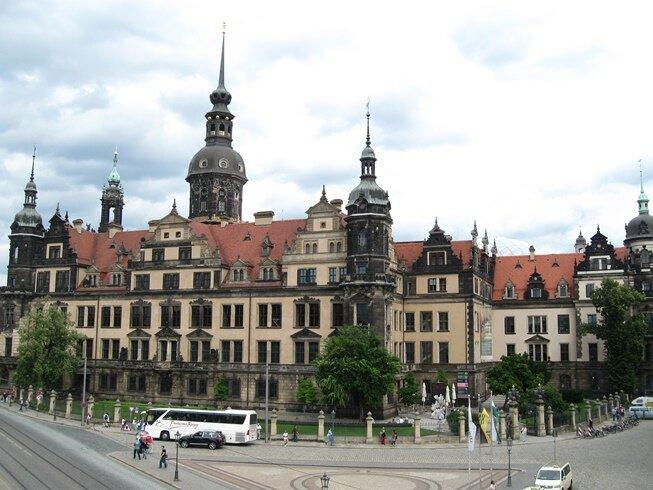 Королевский дворец в Дрездене
