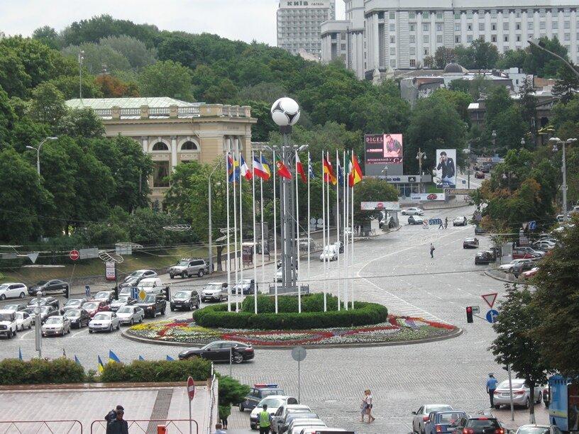 европейская площадь Киев