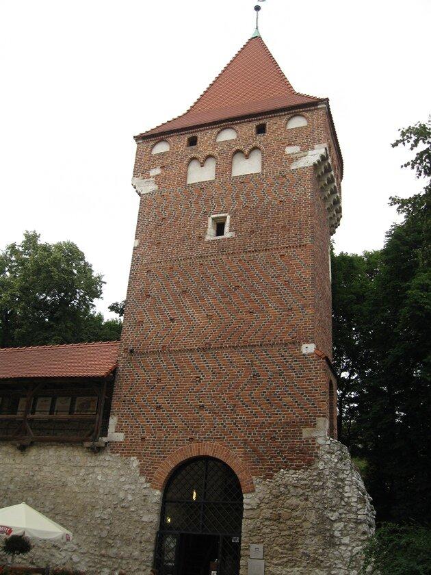 Флорианские ворота Краков