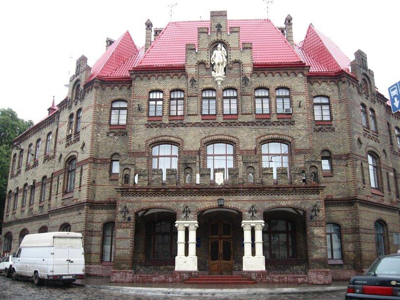 Пожарное депо Львов