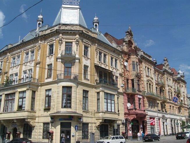 Красивая архитектура Львов