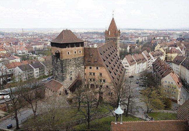 замок в Нюрнберге